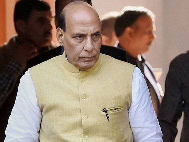 File image of Union minister Rajnath Singh. News18
