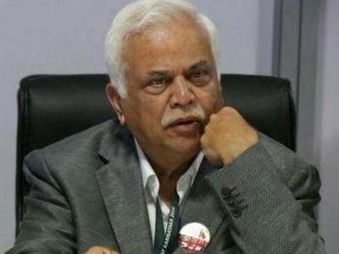 Congress MLA Raghunath Vishvanath Deshpande. Twitter@RV_Deshpande