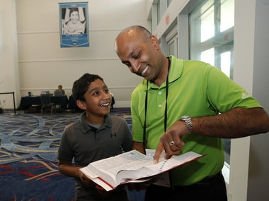 US National Spelling Bee: Atman Balakrishnan,12, hopes to make history in competition dominated by Indian Americans