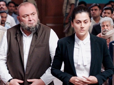 Mulk first look: Taapsee Pannu returns to the courtroom as a lawyer in Anubhav Sinha's film