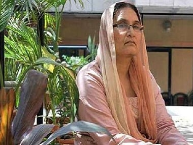 File image of Tabassum Hasan. News18