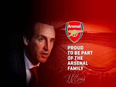 Premier League: Unai Emery's website appears to confirm his appointment as Arsenal manager
