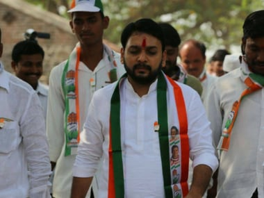 File image of Congress nominee Vishwajeet Kadam. Facebook/KadamVishwajeet