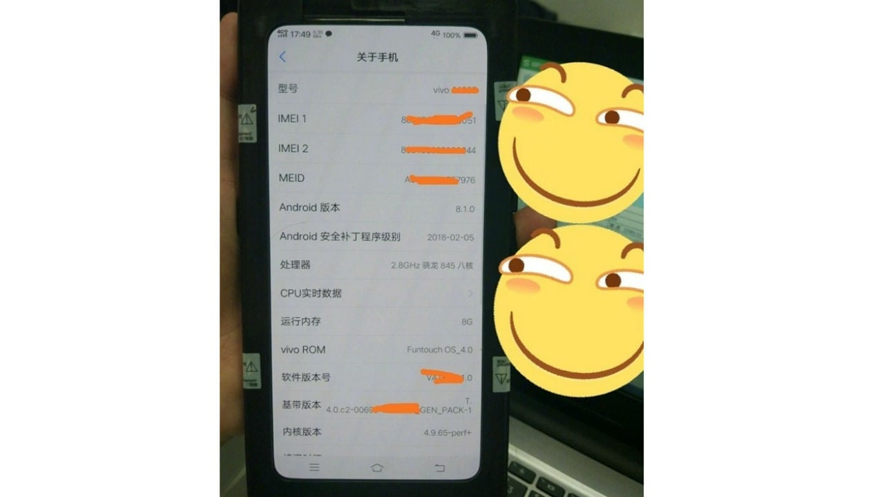 The rumoured Vivo Nex is expected to have no notch and no bezel