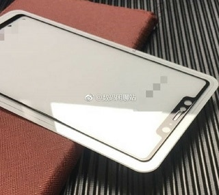 Xiaomi Mi 7 display panel live image allegedly leaked, reveals iPhone X-like notch design