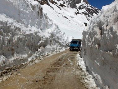 File image of the Zojila Pass. Reuters