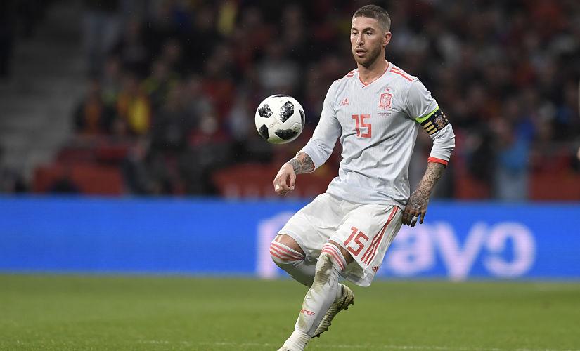 File image of Sergio Ramos. AFP