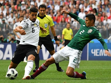 FIFA World Cup 2018: Sami Khedira laughs off talks about Germany taking early flight home