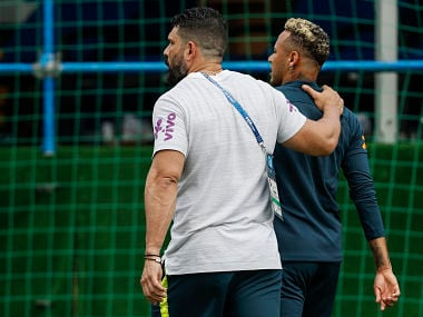 FIFA World Cup 2018: Brazil star Neymar limps off during team's training session ahead of Costa Rica tie