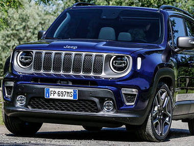 2018 Jeep Renegade.
