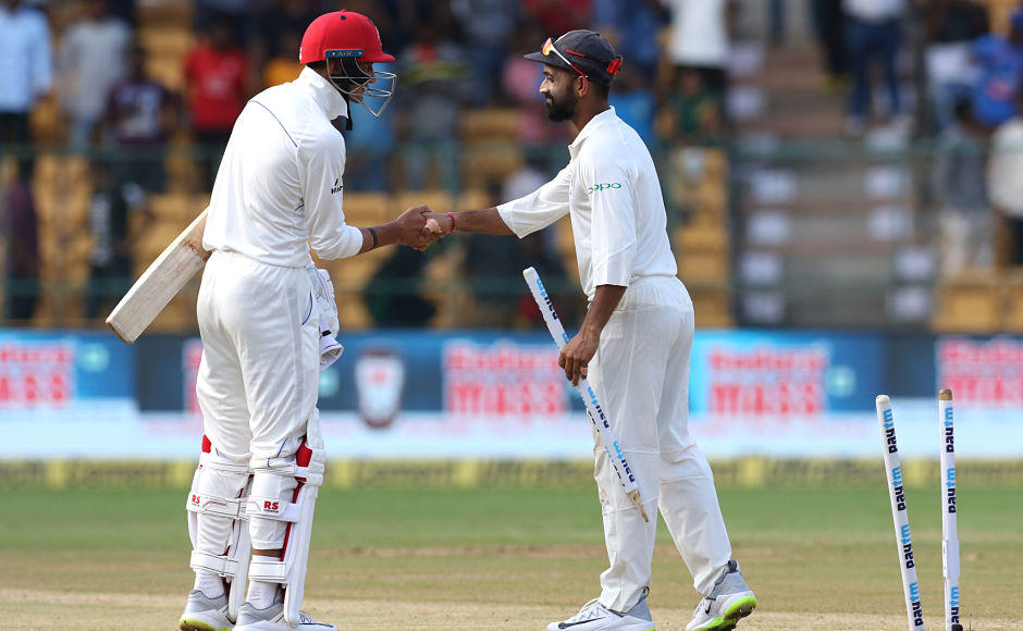India registered their biggest Test win after thumping the Afghans by an innings and 262 runs. Sportzpics