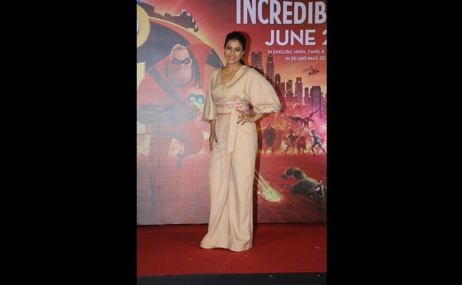 Kajol at the event