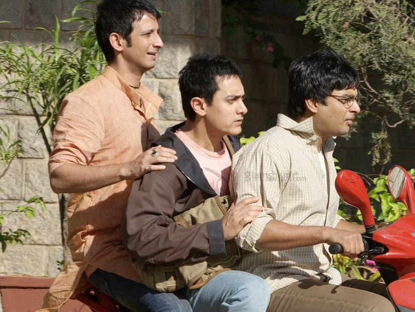 A still from 3 Idiots/Image from Twitter.