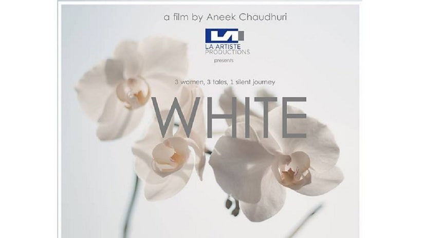 Poster of Aneek Chaudhuri's White. Image from Twitter