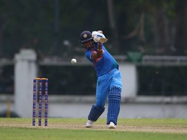 Harmanpreet Kaur scored a 17-ball 27 and took 3 for 11 to dismantle Thailand. Image courtesy: Asian Cricket Council