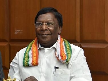 Chief Minister of Puducherry V. Narayansamy. U.S. Consulate General Chennai