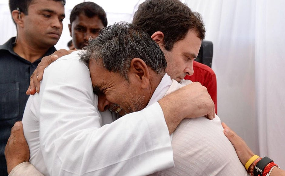 Gandhi met with families of the individuals who lost their lives,tweetingthat the families were still awaiting justice. He also questioned the efficacy of the commission probes that were set up to investigate the firing. Twitter@RahulGandhi