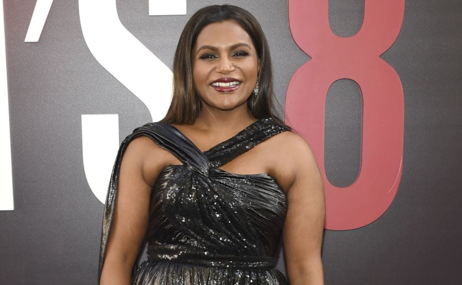 Mindy Kaling attends the world premiere of Ocean's 8 at Alice Tully Hall in New York. Ohoto by Evan Agostini/Invision/AP