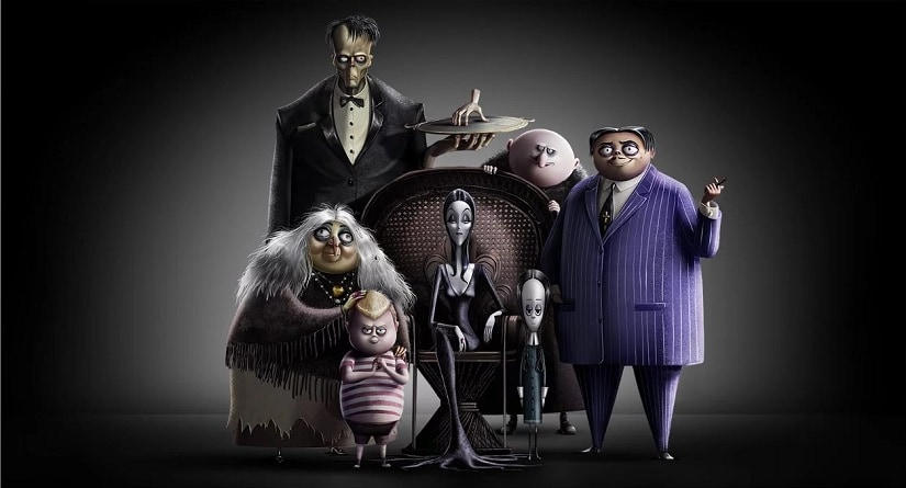 The Addams Family first look. Image via Twitter