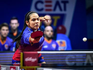 Adriana Diaz won the last match 3-0 to swing victory in favour of Dabang Smashers. Image Credit: Agencies
