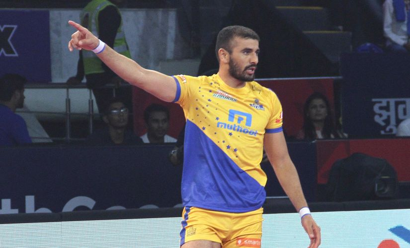 Tamil Thalaivas kept faith in Ajay Thakur despite a underwhelming performance in the PKL last season. Image Courtesy: PKL