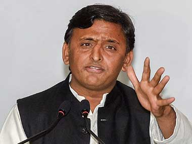 File image of Samajwadi Party leader Akhilesh Yadav. PTI.