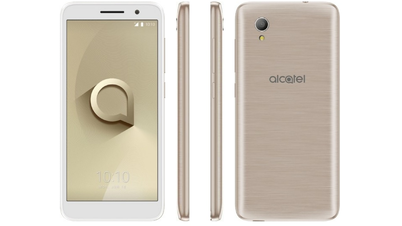 Alcatel 1 is an Android Go-powered smartphone that has been launched at 0