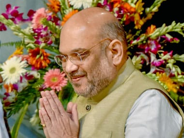 Amit Shah accuses Congress of 'communalising' Vande Mataram, says party's appeasement policy also caused Partition