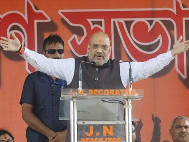 BJP president Amit Shah. Image courtesy @AmitShah