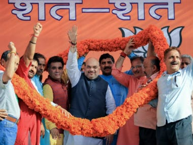 Amit Shah in Jammu brought the focus back on J&K's special status. PTI