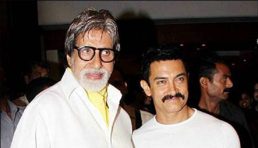 File picture: Amitabh Bachchan and Aamir Khan