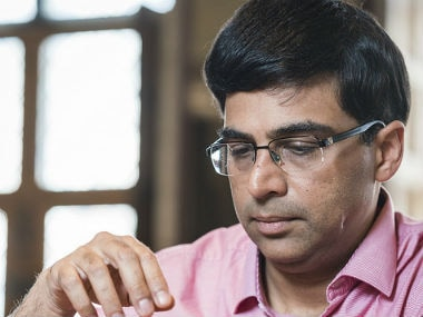 Viswanathan Anand finally bounced back in the blitz leg. Image credit: Lennart Ootes