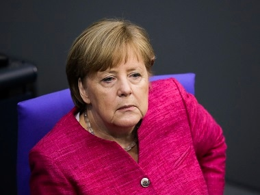File image of German Chancellor Angela Merkel. AP