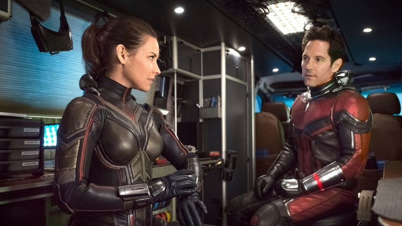 A still from Ant-Man and the Wasp/Image from Twitter.