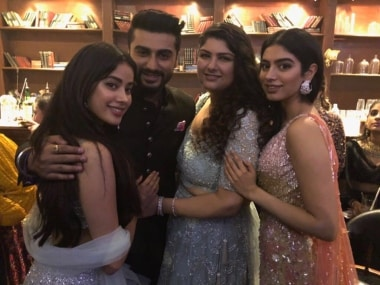 Arjun Kapoor tweets to sister Janhvi ahead of Dhadak trailer launch: You will be part of the audience forever