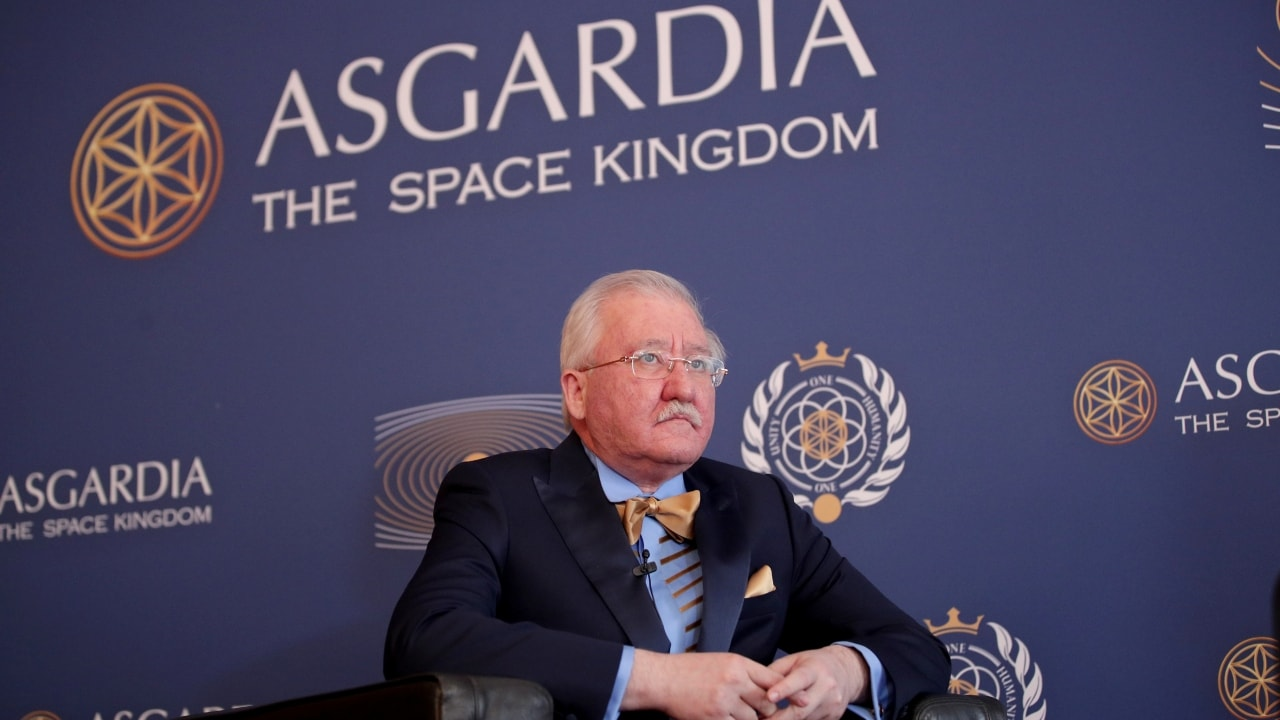 Russian scientist Igor Ashurbeyli becomes space nation Asgardias first leader