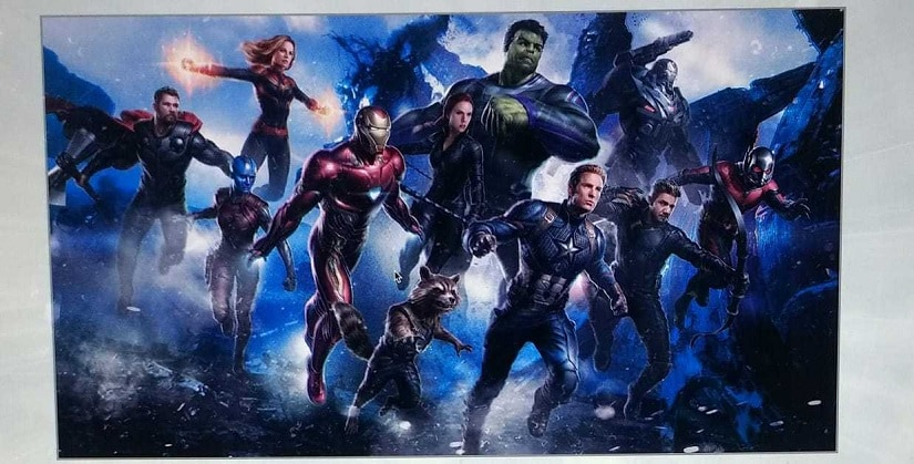 Avengers 4 concept art featuring a new team of superheroes post-Infinity War. Image via Reddit