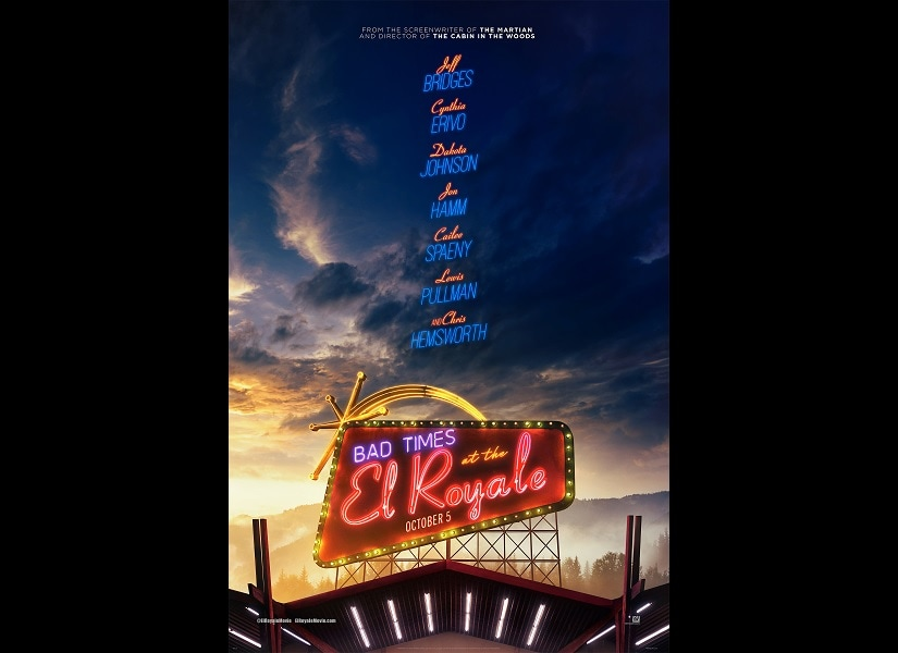 Bad Times at the El Royale poster. 20th Century Fox
