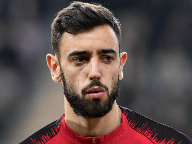 File image of Bruno Fernandes. AFP