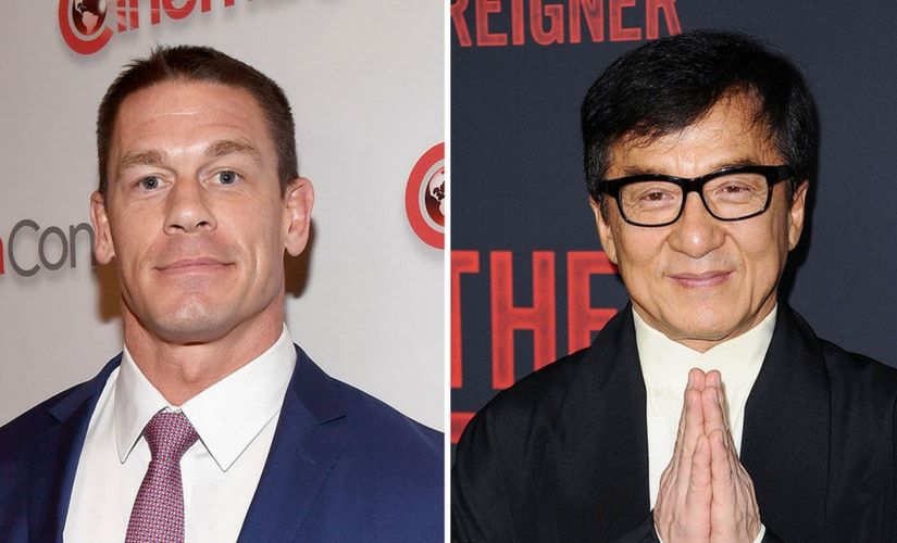 John Cena and Jackie Chan/Image from Twitter.