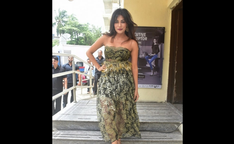 Producer Chitrangda Singh at the trailer launch of Soorma, based on the life of former Indian hockey skipper, Sandeep Singh.