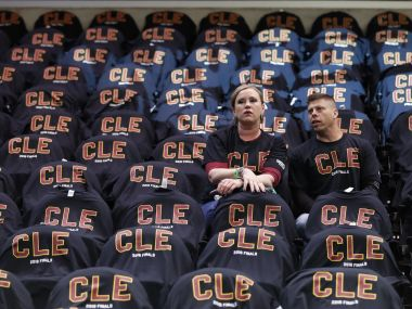 An image of Cleveland Cavaliers fans used for Representational purpose. AP