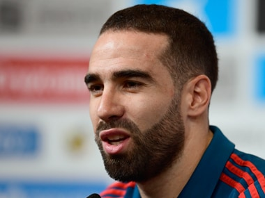 Dani Carvajal has started two of Spain's three group stage games. AFP