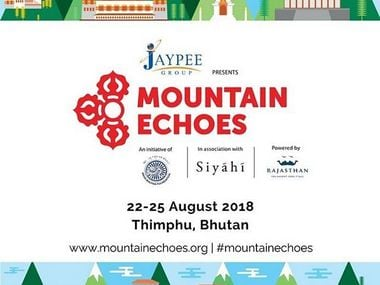 Flyer of Bhutan's Mountain Echoes Festival. Twitter