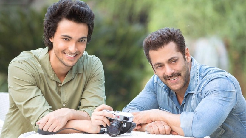 Salman Khan and his brother-in-law Aayush Sharma. Twitter/@aaysharma