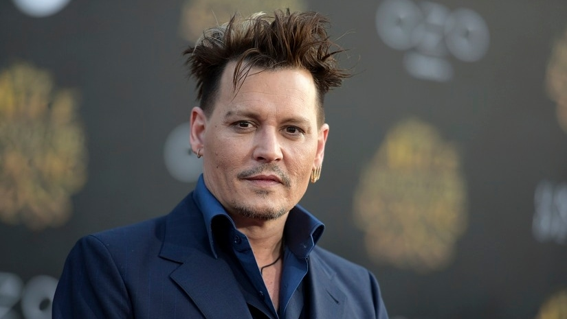 File image of Johnny Depp. The Associated Press