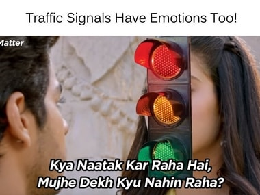 Mumbai police used a Dhadak meme to promote road safety; Twitter cannot stop praising the admin