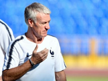 Didier Deschamps. AFP