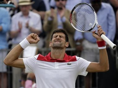 Queen's Club Championship: Novak Djokovic reaches final to end drought; Marin Cilic downs Nick Kyrgios