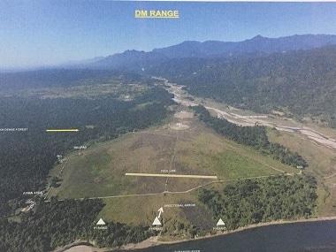 India Air Force range in Dollungmukh, Arunachal Pradesh. Image Courtesy: IAF